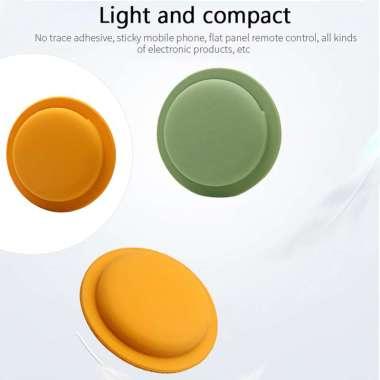 harga Adhesive Protective Sleeve holder Back Case For Apple AirTag  Orange Orange Blibli.com