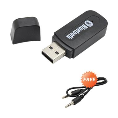 Audio USB Bluetooth Audio Music Receiver + Free Cable AUX 3.5 mm
