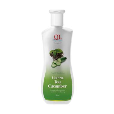 Ql Cosmetic Green Tea Hand Body Lotion [500 mL]