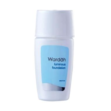 Wardah Everyday Luminous Liquid Foundation - 01 Natural White [40mL]