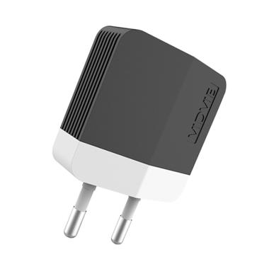 VIDVIE PLE203 Charger with Micro Data Cable - Hitam [Dual USB]