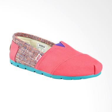 Wakai WAK-SW017BG-ROKA Sepatu Unisex - Pink Purple
