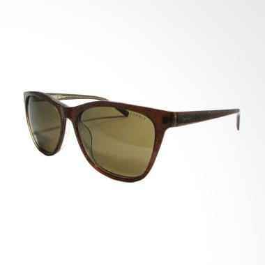 Esprit 17871 - 56 Sunglass with Glitter Detail - Brown Glitter