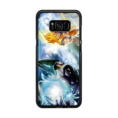 Flazzstore Dragonball Z Cell Vs Gok ... ing for Samsung Galaxy S8