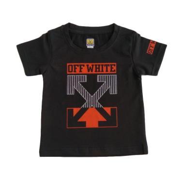 GLOWFish OB1037 Kaos Anak Laki-Laki - Hitam [Usia 0-3 Tahun]