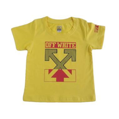 GLOWFish OB1037 Kaos Anak Laki-Laki - Kuning [Usia 0-3 Tahun]