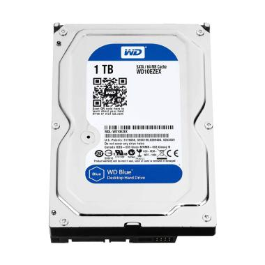 WD WD10EZEX Blue Harddisk Internal [1 TB]