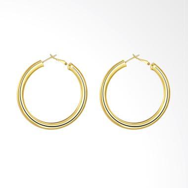 SOXY AKE064 Fashion K Selling Round Earrings - Gold