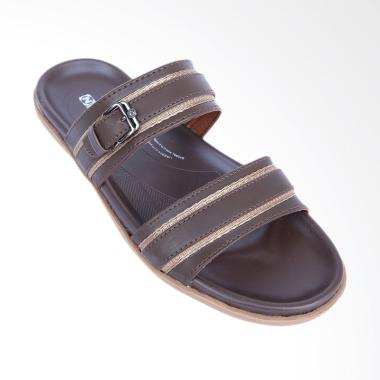 NECKERMANN Concord Sandal Pria - Dark Brown [662]
