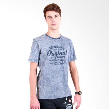 180 Degrees Original Vintage T-Shirt Pria - Navy