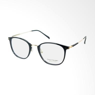 Elite Design Y2620 Bulat Frame Kacamata Wanita - Black 0f3445ca85