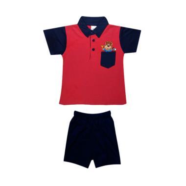 MacBear Kids Baju Anak Setelan Polo Winner Of MacBear