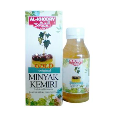 Alkhodry Gold Minyak Kemiri Plus Zaitun