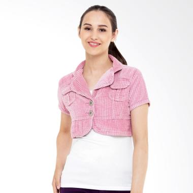 Mobile Power G8501 Ladies Bolero Cropped Outer - Pink
