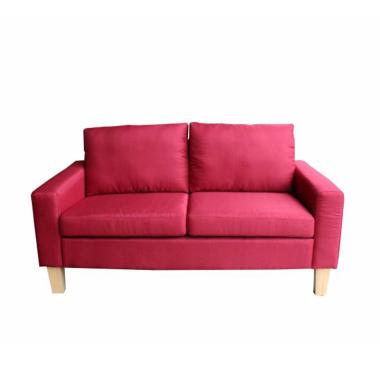 JYSK Burkal Sofa 2 Seater - Maroon [145 x 74 x 79 cm]