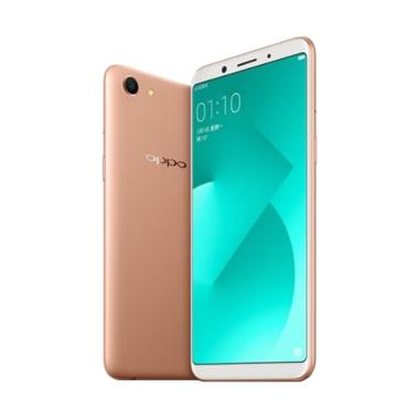 Oppo A83 Gold Smartphone [32 GB/ 3 GB] + Selfie Stick + Ring Holder
