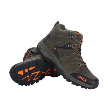 Snta Sepatu Gunung Pria - Green Orange [482]