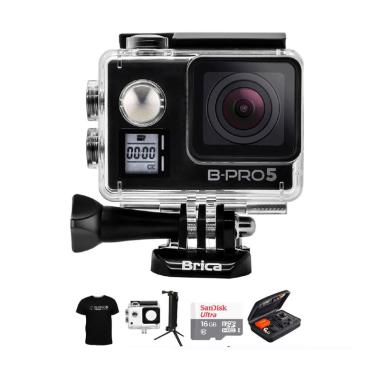 Brica B-PRO 5 Alpha Edition IIS AE2 ... ket Action Camera - Hitam