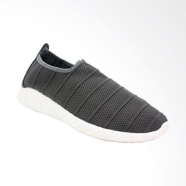 Dr.Kevin Stylish & Comfortable Man Slip On Shoes - Grey [13314]