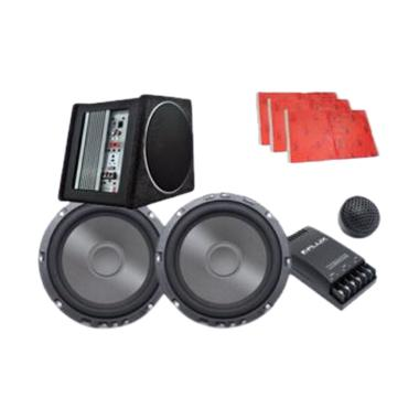 Flux Paket Audio Speaker dan Subwoofer Aktif Box [H]