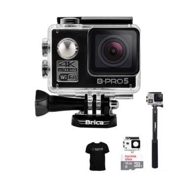 Brica B-PRO 5 Alpha Edition 1 4K AE ... eme Action Camera - Hitam