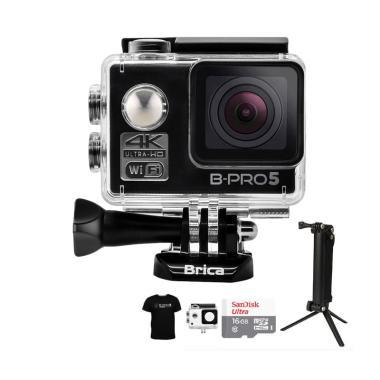 Brica B-PRO 5 Alpha Edition 1 4K  A ... ket Action Camera - Hitam