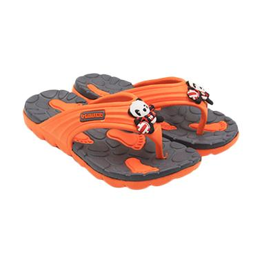 Kiri Kanan K 38 Sandal Jepit Anak Laki Laki - Orange