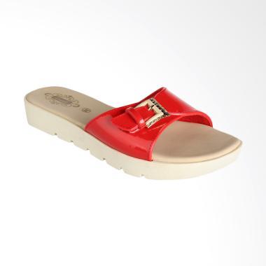 Carvil 51.GLZ.003.K3/GLAZY-03 L Ladies Casual Sandal Wanita - Red