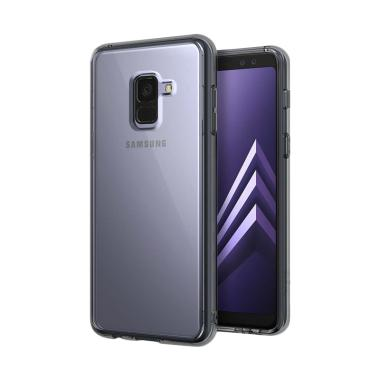 Ringke Fusion Casing for Samsung Galaxy A8 2018 - Smoke Black