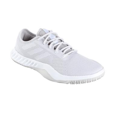 adidas Women Training Crazytrain LT ... a Wanita - White [CG3498]