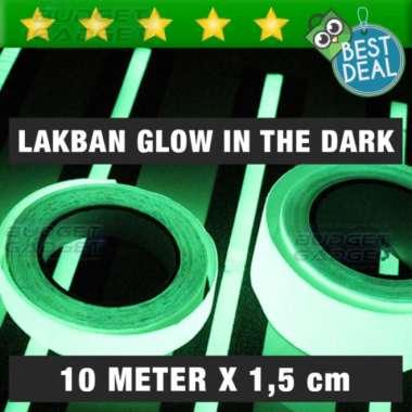 harga Unik Glow In The Dark Luminous Adhesive Tape 1.5 x 10 cm  Lakban Murah Blibli.com