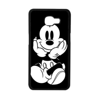 Acc Hp Black Mickey Mouse E1437 Casing for Samsung Galaxy A3 2016