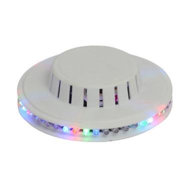 Yangunik Model UFO Lampu Disco - Putih