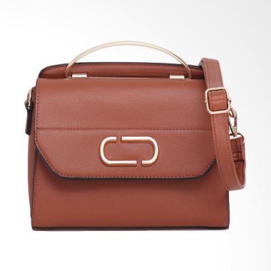 Lorica by Elizabeth Soraya Hand Bag - Coklat Bata