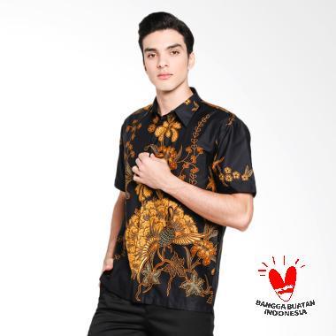 Serendipity Clothing Black Bird Kemeja Batik Pria