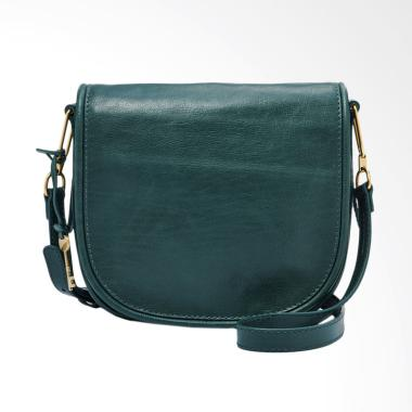 Fossil Rumi ZB 7390307 Crossbody Bag Wanita - Alpine Green [Large]