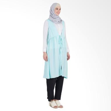 SYAHEERA Naura Outwear Muslim Wanita - Tosca