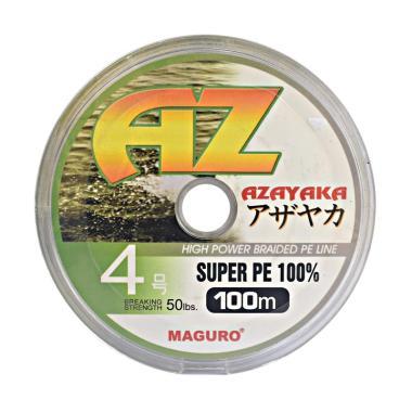 Maguro Azayaka PE Senar Pancing - Y ... M/ Size 4/ Ukuran 50 LBS]