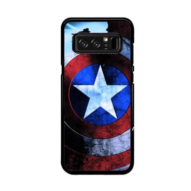 Acc Hp Shield Captain America Z5250 Casing for Samsung Galaxy Note 8