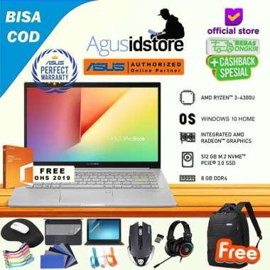 harga Laptop Asus Vivobook S14 M433IA Ryzen 3 4300U 8GB 512GB SSD WIN10 + OHS 14