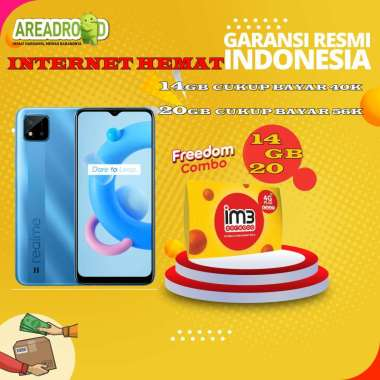 harga Realme C20 [2/32 GB] Realme C20 2 GB 32 GB Bundle Indosat Garansi Resmi Bundle 14GB Blibli.com