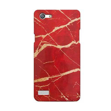 Premiumcaseid Red Marble Granite St ... sing for Oppo Neo 7 (A33)