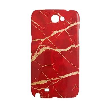 Premiumcaseid Red Marble Granite St ... for Samsung Galaxy Note 2