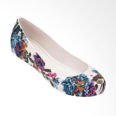 Melissa 3DB Ultragirl  Ballerina Shoes - White
