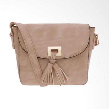Les Femmes S170943 Tas Sling Bag Wanita - Dusty Pink