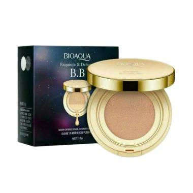 harga BIOAQUA BB Gold Exquisite And Delicate Liquid Cushion Make Up [15 g] Blibli.com