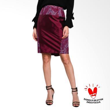 Lombang Batik by Yati Law Span Rok - Ungu Tua