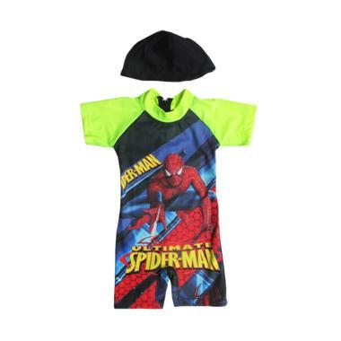 Rainy Collections Karakter Spiderma ...  dan Topi - Stabilo Green