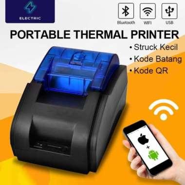 harga Unik POS PRINTER ELECTRIC JK-58H 58MM KERTAS THERMAL KASIRUSBBLUETOOTH - Printer Berkualitas Blibli.com