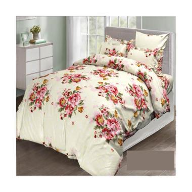 Melia Bedsheet J-4053 Katun Jepang Bedcover - Floral Print
